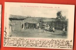 MIR-23 Nyassaland D. Ostafrika-Nyassa, Sango Gehöft. Aus Missionsgebieten Der Brüdergemeine. Used In 1903 In CH - Malawi