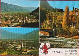 Meran Merano Lana Bozen Südtirol Italia Italien Grote Kaart Grand Format - Bolzano (Bozen)