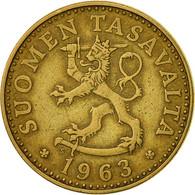Finlande, 20 Pennia, 1963, TTB, Aluminum-Bronze, KM:47 - Finlande