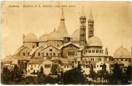PADOVA  Basilica Di Sant'Antonio Vista Dalle Mura  1918 - Padova