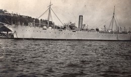 San Francisco Yerba Buena Island USS Rainbow Ravitailleur De Sous-marins Ancienne Photo Amateur 1918 - Boats