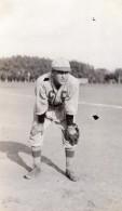 USA Portrait D'un Joueur De Baseball Player Ancienne Photo Amateur 1920 - Sports