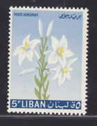 LIBAN AERIENS N°  296 ** MNH Neuf Sans Charnière, Fleurs, TB  (D0490) - Lebanon