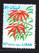 LIBAN N°  241 ** MNH Neuf Sans Charnière, Fleurs, TB  (D0494) - Lebanon