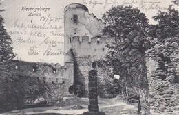 AK Riesengebirge - Kynast - Chojnik - Stempel Burg Kynast - 1905 (31330) - Schlesien