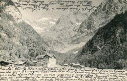 SWITZERLAND - Les Plans - Hotel Pension Tannar - VG Postmark 1903 - Undivided Rear - VS Valais
