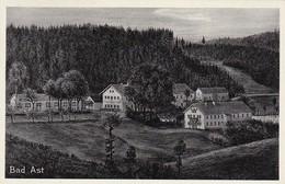 AK Naturheilbad Bad Ast Bei Landshut - Stempel Vilsheim über Moosburg - 1939 (31332) - Vilshofen