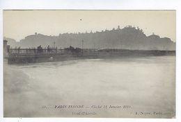 CPA Paris Inondé Pont D'Arcole N° 52 Noyer - Inondations De 1910