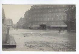 CPA Paris Inondé La Place De Rome N° 49 Noyer - Inondations De 1910