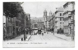 08 – SEDAN : La Place Crussy N° 12 - Sedan