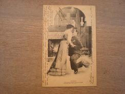 Couple, Le Pardon, 1902, Timbre (C3) - Couples