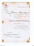 POPE PIO XII ( GIOVANNI PACELLI )  SIGNED / AUTOGRAPH LETTER YEAR 1938 - RARE - Autographs