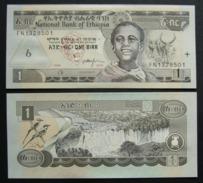 Etiopia 1 Birr 2006 FDS UNC Ethiopia, Ethiopie - Etiopia