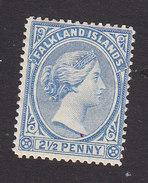 Falkland Islands, Scott #15, Mint Hinged, Victoria, Issued 1891 - Falkland Islands