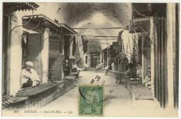 (Tunisie) Sousse, LL 104, Souk El Rba, Voyagée En 1913, TB - Tunisie
