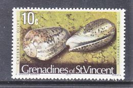 ST. VINCENT  GRENADINES  40    **    SEA SHELLS - St.Vincent (...-1979)