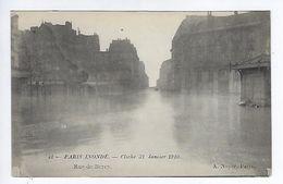 CPA Paris Inondé Rue De Bercy N° 41 Noyer - Inondations De 1910