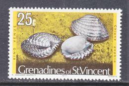 ST. VINCENT  GRENADINES  44    **    SEA SHELLS - St.Vincent (...-1979)