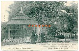 Postale Buffet De La Gare Parc Du Chateau - D'Eau Cette Sete Herault France - Montpellier