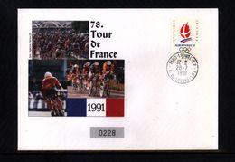 France / Frankreich 1991 Tour De France Interesting Cover - Radsport