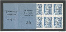 SUEDE 1957 - CARNET  YT C414a - Facit H115 - Neuf ** MNH - Association Nationale De Sauvetage En Mer - Carnets