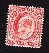 Falkland Islands, Scott #23, Used, Edward VII, Issued 1904 - Falkland