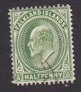 Falkland Islands, Scott #22, Used, Edward VII, Issued 1904 - Falkland Islands
