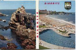 64 - BIARRITZ - Dépliant 12 Vues Couleurs (10.5 X 7.5) - Albumes & Colecciones