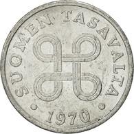 Finlande, Penni, 1970, TTB, Aluminium, KM:44a - Finlande