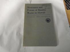 STRUCTURE AND FORMS OF BASALTIC ROCKS IN HAWAII  GEOLOGICAL SURVEY BULLETIN 994 / Géologie, Volcanologie, Magmatisme... - Sciences De La Terre