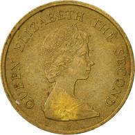 Hong Kong, Elizabeth II, 10 Cents, 1982, TTB, Nickel-brass, KM:49 - Hong Kong