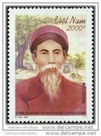 Vietnam Viet Nam MNH Perf Withdrawn Stamp 2009 : Death Centenary Of Nguyen Khuyen / Costume (Ms979) - Vietnam