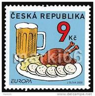 Czech Republic - 2005 - Europa 'CEPT - Gastronomy - Mint Stamp - Neufs