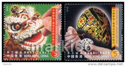 Hong Kong - 2011 - Joint Issue With Romania, Handicrafts - Mint Stamp Set - 1997-... Región Administrativa Especial De China