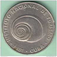 1981-MN-102 CUBA EXCHANGE INTUR CO-IN. 1981. 5c. CARACOL. SNAIL. - Cuba