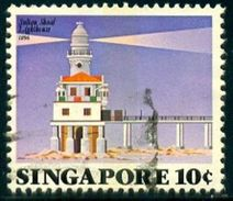 Lighthouse, Sultan Shoal, 1896, Singapore Stamp SC#397 Used - Singapour (1959-...)