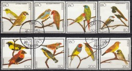 MISC - YW1465 Birds / Complete Set Of  8 Stamps - Storks & Long-legged Wading Birds