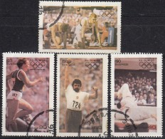 MISC - YW1474 Montréal '76 Olympic Games / Complete Set Of  4 Stamps - Summer 1976: Montreal