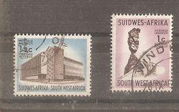 Afrique Du Sud-ouest Y&t  254-255 - Africa Del Sud-Ovest (1923-1990)