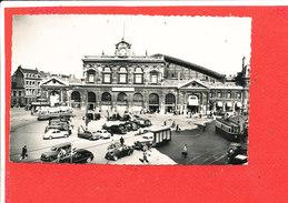 59 LILLE Cpsm Animée Place De La Gare           47 Glatigny - Lille