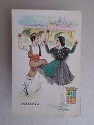 ART POSTCARD Sg. SPAIN ESPAÑA ESPANA ESPAGNE ZARAGOZA TYPICAL COSTUME 1940s Z1 - Postcards