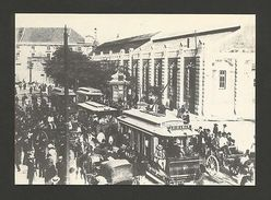 TRAMWAY TRAMCAR TRAM LISBON PORTUGAL LISBOA Tramway Company Pc Issue 1980 Ys Z1 - Postcards