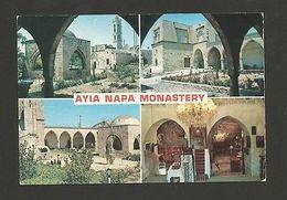 1960ys POSTCARD CYPRUS AYIA NAPA MONASTERY Z1 - Postcards
