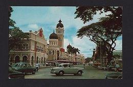 MALAYSIA  KUALA LUMPUR 1960years STREET SCENE CARS CAR AUTOMOBILES Z1 - Postcards
