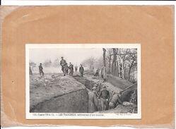 GUERRE 1914/1915 - LES TRANCHEES - Achèvement D'une Tranchée   - NANT - - Guerre 1914-18