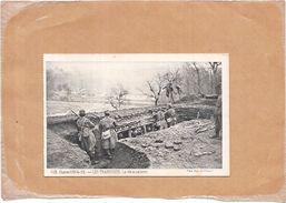 GUERRE 1914/15  - LES TRANCHEES - La Vie Sous Terre - NANT - - Guerre 1914-18