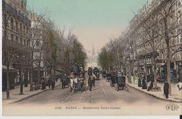 238 - Paris - Boulevard Saint-Michel - ELD -Colorisé - Arrondissement: 05