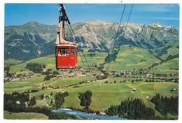Suisse // Schweiz // Switzerland // Vaud //  Château D'Oex, Téléphérique De La Braye - VD Vaud