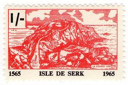 (I.B-JA) France Cinderella : Isle De Serk (Sark) Local Post 1/- - Europe (Other)