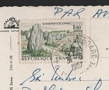 FRANCE ALIGNEMENTS CARNAC DOLMENS MENHIR STAMP PREHISTORY ARCHAEOLOGY P PARIS Z1 - Europe (Other)